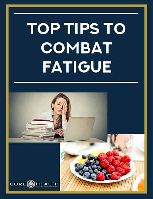 Top 7 tips to combating fatigue
